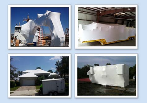 Florida Shrink Wrap Service For Boats Shipping Equipment